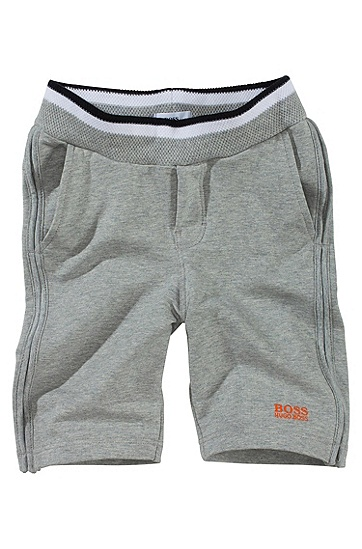 Cotton blend jogging trousers ´J04059`, Grey