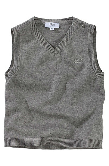 Cotton slipover ´J05104`, Grey