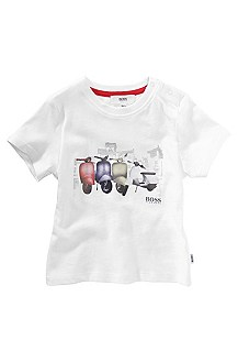 T-shirt à encolure ronde, J05202