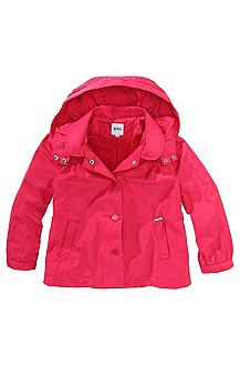 Light jacket with detachable hood 'J16084'