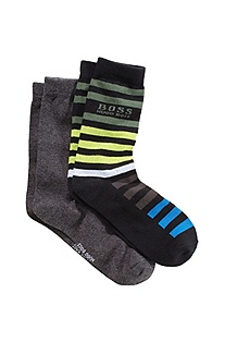 Two-pair set of socks in blended cotton 'J20085'