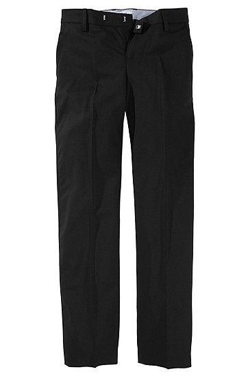 Wool trousers ´J24137`, Black