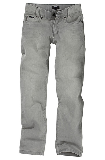 Five-pocket children's jeans ´J24142`, Grey