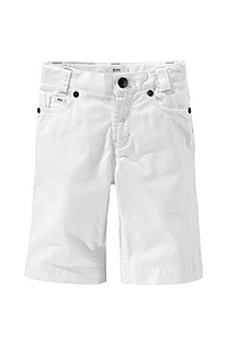 Cotton shorts with elastane 'J24190'