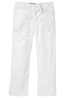 Cotton trousers with elastane 'J24209'