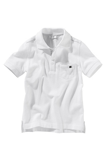 Cotton polo shirt ´J25328`, White