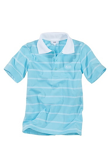 Cotton polo shirt ´J25350`, Blue