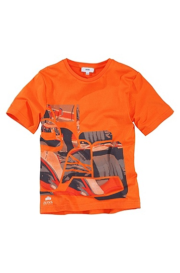 Crew neck T-Shirt ´J25353`, Orange
