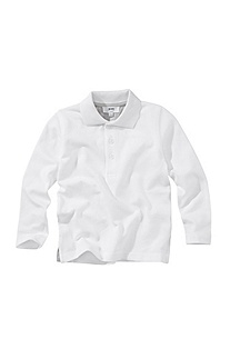 Children's polo shirt in cotton piqué 'J25382'