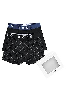 Two pack boxer shorts in blended cotton 'J27030'