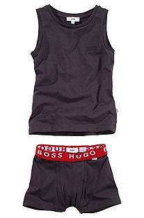 Vest and boxer shorts set 'J28014'