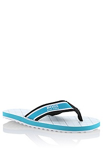 Flip flop with an all-over print 'J29043/100 37'