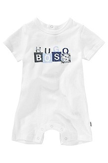 Romper suit in cotton with elastane 'J94057'