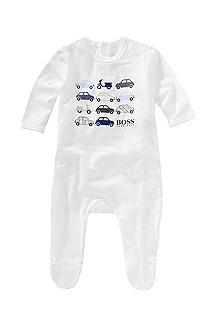 Cotton blend dungaree pyjamas 'J98058'