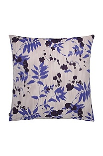 Pillow case 'Cobalt Leaves'