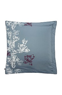 Pillow case in cotton satin ' PEONY'