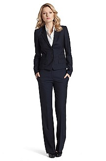 Elegant business trouser suit